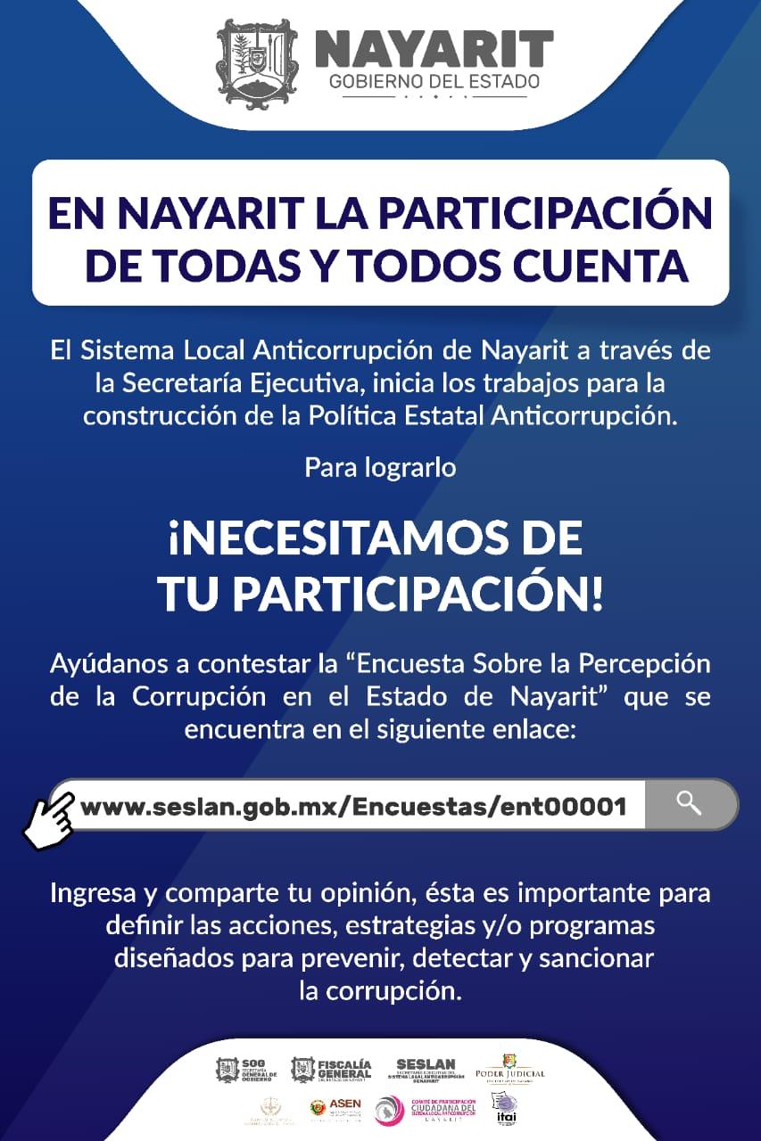 ENCUESTA PERCEPCIÓN DE LA CORRUPCIÓN